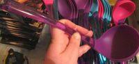 Purple Silicone & Plastic Ladle - Cooke & Miller