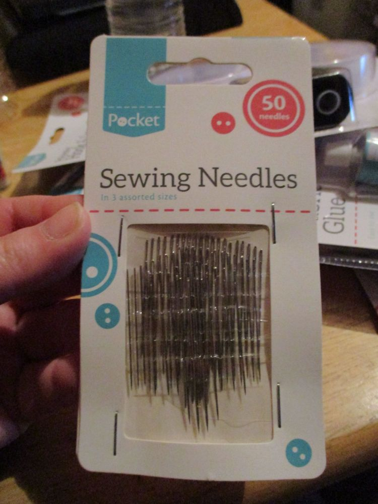 Sewing Needles (Hand Sewing) 50pk