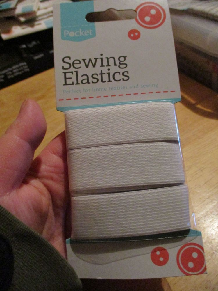 Sewing Elastic - Large - 25mm x 2M