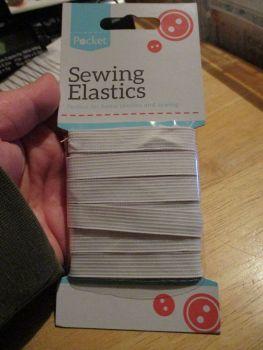 Sewing Elastic - Medium - 12mm x 4M