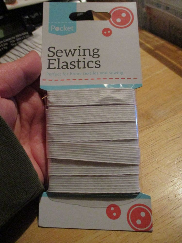 Sewing Elastic - Medium - 12mm x 4M