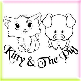 Kitty & The Pig logo
