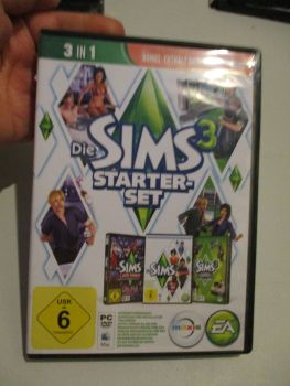 The Sims 3 Starter Set - Incs Base, Hi End Loft & Late Night (German) Pal PC DVD / Mac #FM0549