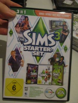 The Sims 3 Starter Set - Incs Base, Hi End Loft & Late Night (German) Pal PC DVD / Mac #FM0578