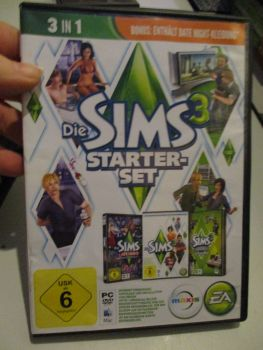 The Sims 3 Starter Set - Incs Base, Hi End Loft & Late Night (German) Pal PC DVD / Mac #FM0577