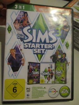 The Sims 3 Starter Set - Incs Base, Hi End Loft & Late Night (German) Pal PC DVD / Mac #FM0576
