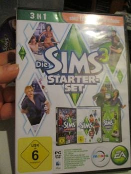 The Sims 3 Starter Set - Incs Base, Hi End Loft & Late Night (German) Pal PC DVD / Mac #FM0566