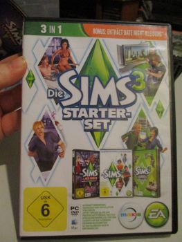 The Sims 3 Starter Set - Incs Base, Hi End Loft & Late Night (German) Pal PC DVD / Mac #FM0550