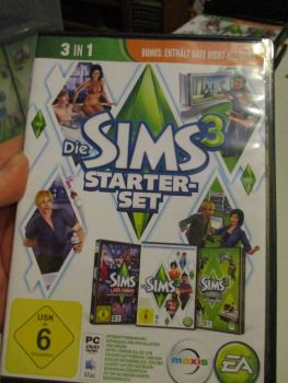 The Sims 3 Starter Set - Incs Base, Hi End Loft & Late Night (German) Pal PC DVD / Mac #FM0555