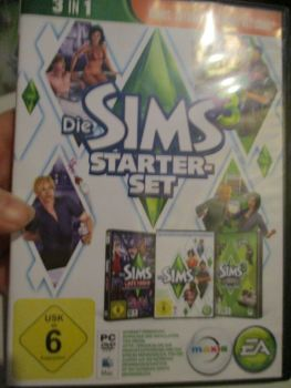 The Sims 3 Starter Set - Incs Base, Hi End Loft & Late Night (German) Pal PC DVD / Mac #FM0579