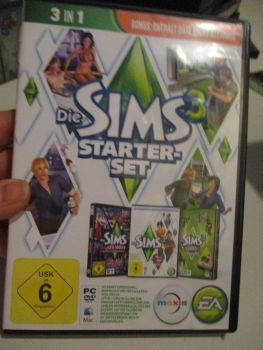 The Sims 3 Starter Set - Incs Base, Hi End Loft & Late Night (German) Pal PC DVD / Mac #FM0580