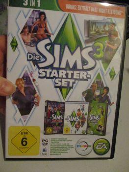 The Sims 3 Starter Set - Incs Base, Hi End Loft & Late Night (German) Pal PC DVD / Mac #FM0586