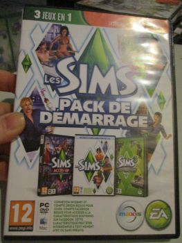 The Sims 3 Starter Set - Incs Base, Hi End Loft & Late Night (French) Pal PC DVD / Mac #FM0573