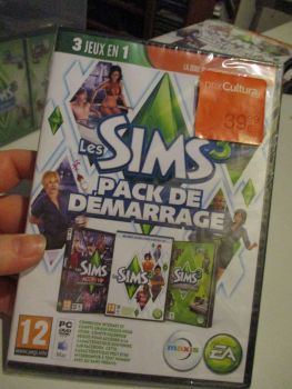 The Sims 3 Starter Set - Incs Base, Hi End Loft & Late Night (French) Pal PC DVD / Mac #FM0564