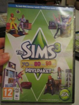 The Sims 3: 70s 80s 90s Stuff Pack (Swedish) Pal PC DVD / Mac #FM0533