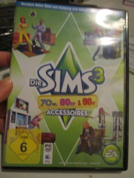 The Sims 3: 70s 80s 90s Stuff Pack (German) Pal PC DVD / Mac #FM0532