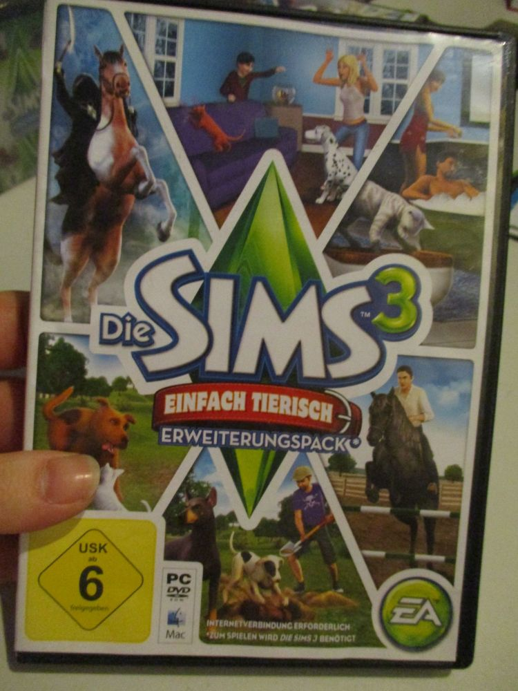 The Sims 3: Pets (German) Pal PC DVD / Mac #FM0546