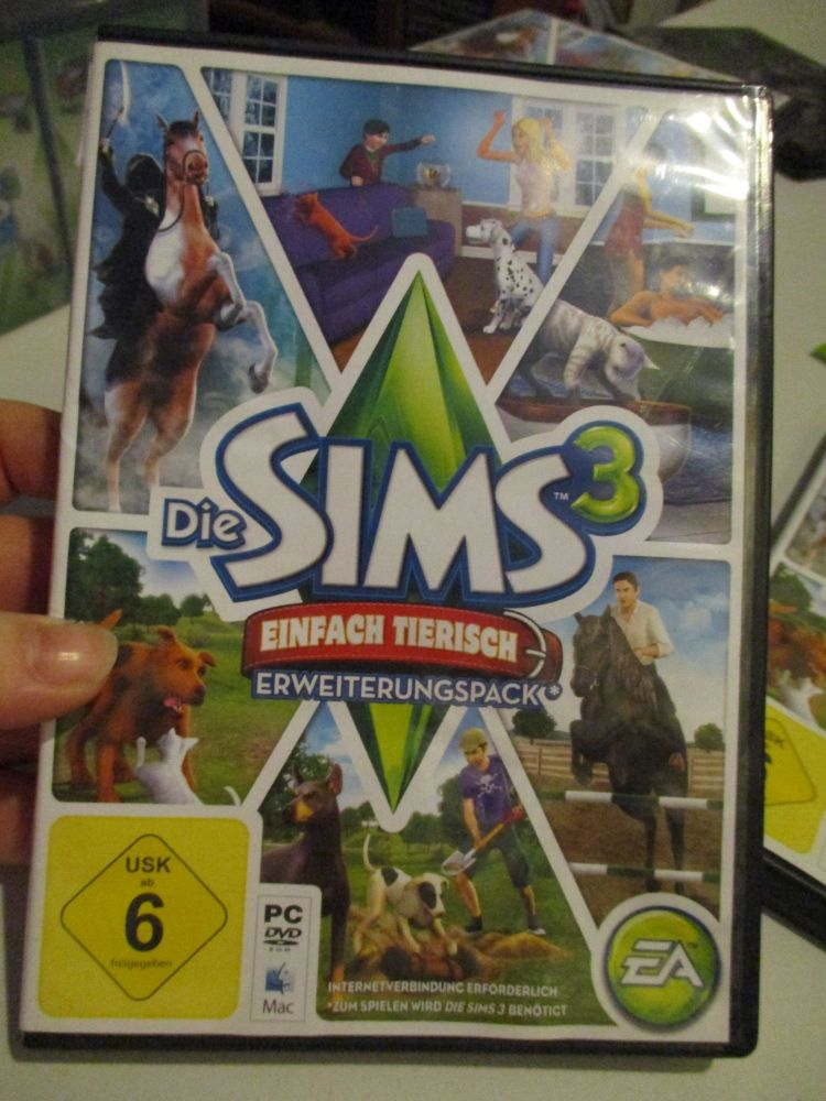 The Sims 3: Pets (German) Pal PC DVD / Mac #FM0544