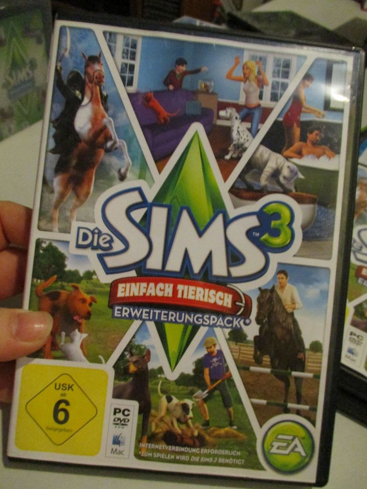 The Sims 3: Pets (German) Pal PC DVD / Mac #FM0539