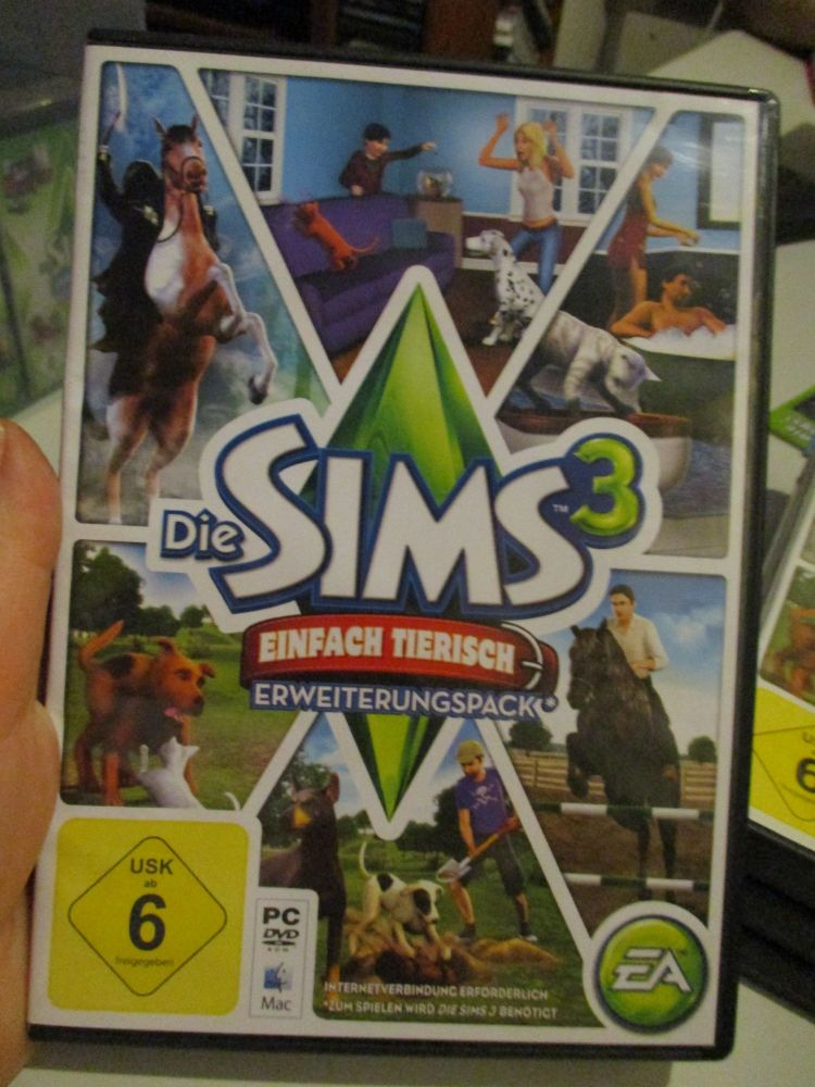 The Sims 3: Pets (German) Pal PC DVD / Mac #FM0540