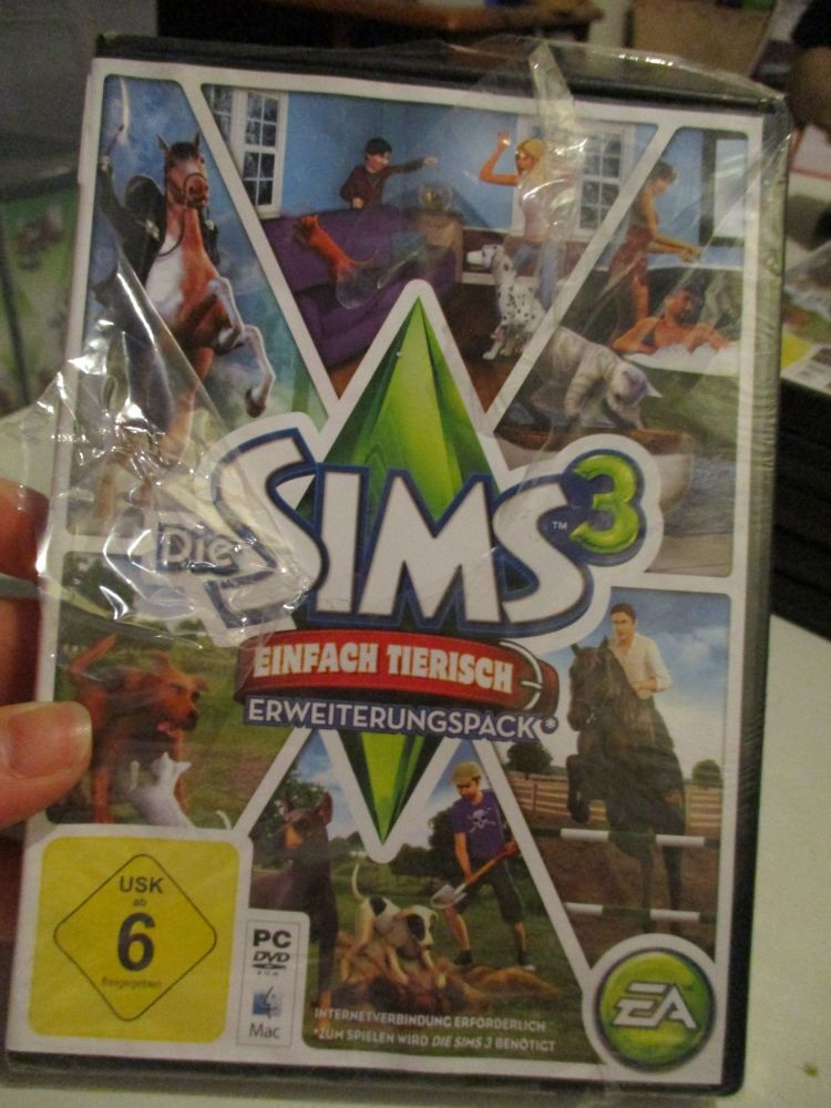 The Sims 3: Pets (German) Pal PC DVD / Mac #FM0543