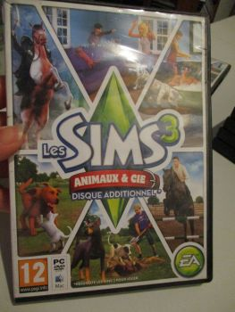 The Sims 3: Pets (French) Pal PC DVD / Mac #FM0541