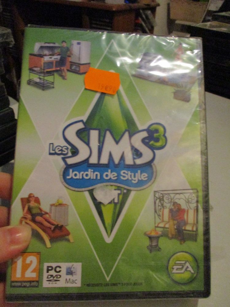The Sims 3: Outdoor Living Stuff Pack (French) Pal PC DVD / Mac #FM0483