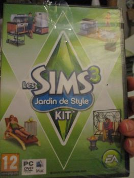 The Sims 3: Outdoor Living Stuff Pack (French) Pal PC DVD / Mac #FM0482