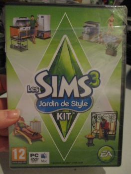 The Sims 3: Outdoor Living Stuff Pack (French) Pal PC DVD / Mac #FM0480