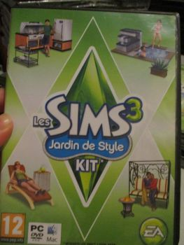 The Sims 3: Outdoor Living Stuff Pack (French) Pal PC DVD / Mac #FM0472
