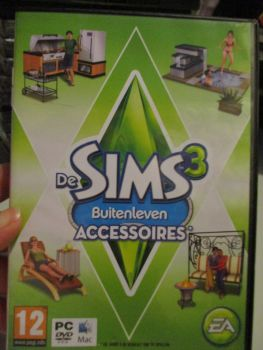 The Sims 3: Outdoor Living Stuff Pack (Dutch) Pal PC DVD / Mac #FM0477