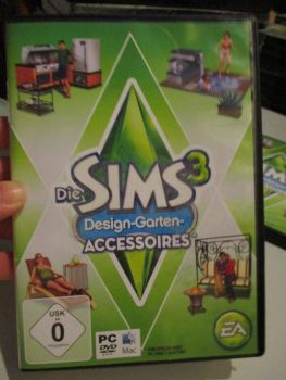 The Sims 3: Outdoor Living Stuff Pack (German) Pal PC DVD / Mac #FM0475