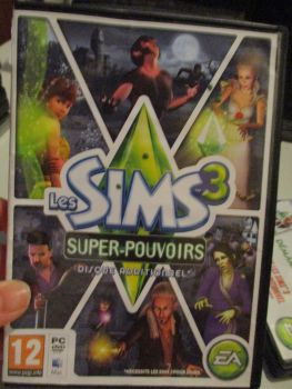 The Sims 3: Supernatural Expansion Pack (French) Pal PC DVD / Mac #FM0493