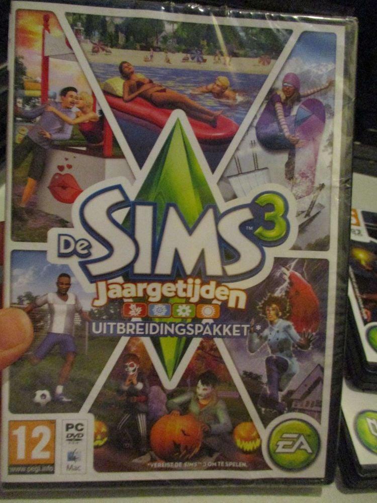 **Sealed** The Sims 3: Seasons Expansion Pack (Dutch) Pal PC DVD / Mac