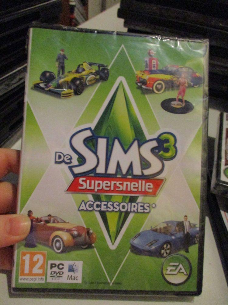 **Sealed** The Sims 3: Fast Lane Stuff Pack (Dutch) Pal PC DVD / Mac