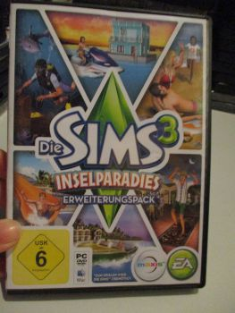 The Sims 3: Island Paradise Expansion Pack (German) Pal PC DVD / Mac #FM0525