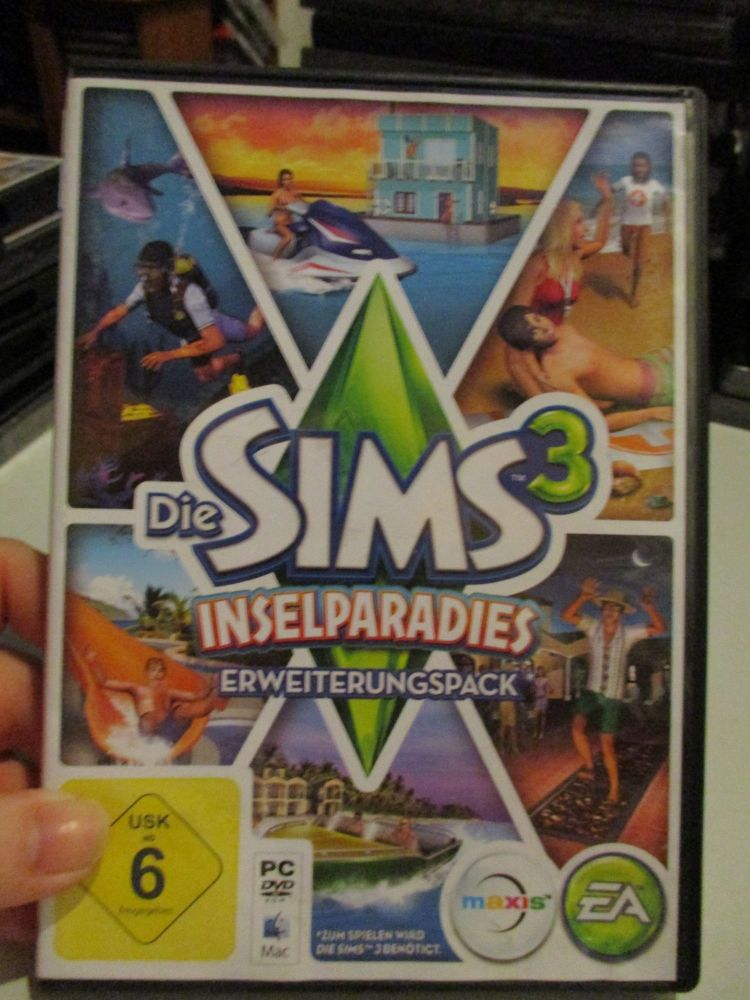 The Sims 3: Island Paradise Expansion Pack (German) Pal PC DVD / Mac #FM0526