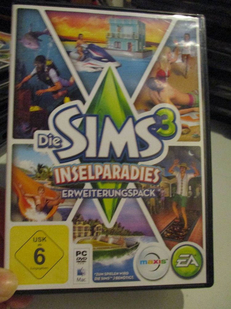 The Sims 3: Island Paradise Expansion Pack (German) Pal PC DVD / Mac #FM052
