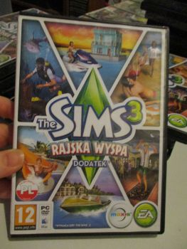 The Sims 3: Island Paradise Expansion Pack (Polish) Pal PC DVD / Mac #FM0529
