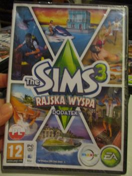 The Sims 3: Island Paradise Expansion Pack (Polish) Pal PC DVD / Mac #FM0528