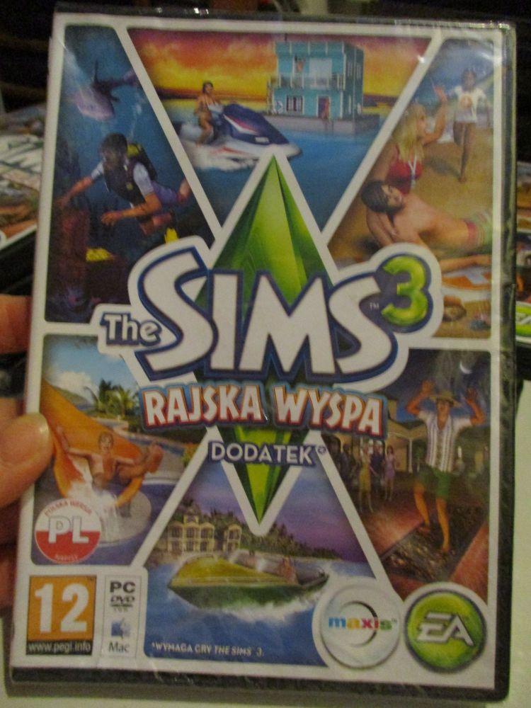The Sims 3: Island Paradise Expansion Pack (Polish) Pal PC DVD / Mac #FM0528
