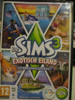 The Sims 3: Island Paradise Expansion Pack (Dutch) Pal PC DVD / Mac #FM0524