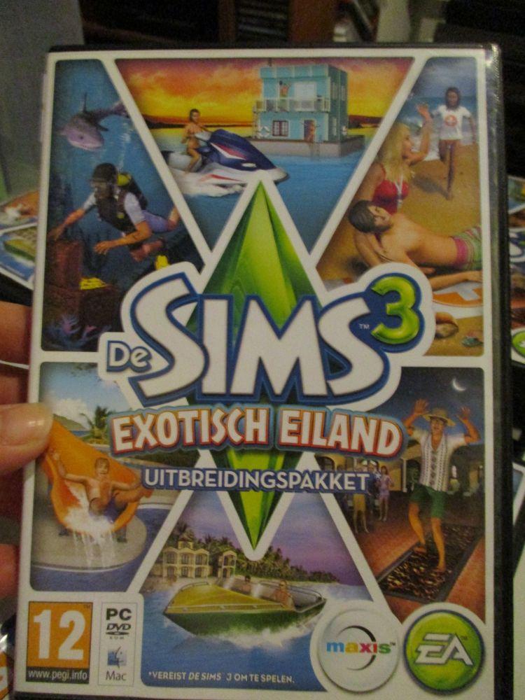 The Sims 3: Island Paradise Expansion Pack (Dutch) Pal PC DVD / Mac #FM0522