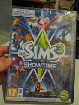 The Sims 3: Showtime Expansion Pack (French) Pal PC DVD / Mac #FM0468