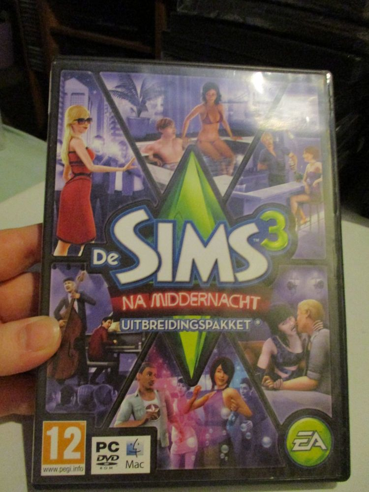 The Sims 3: Late Night Expansion Pack (Dutch) Pal PC DVD / Mac #FM0504