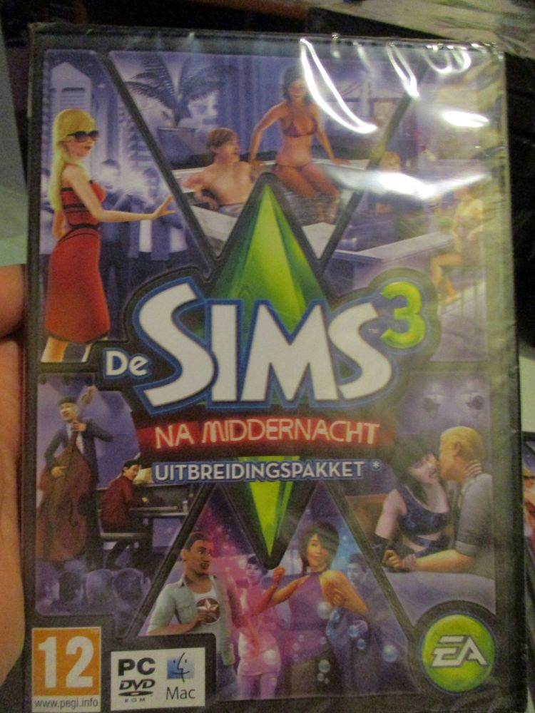 The Sims 3: Late Night Expansion Pack (Dutch) Pal PC DVD / Mac #FM0505