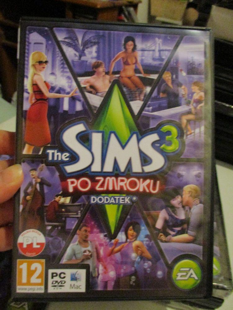 The Sims 3: Late Night Expansion Pack (Polish) Pal PC DVD / Mac #FM0503