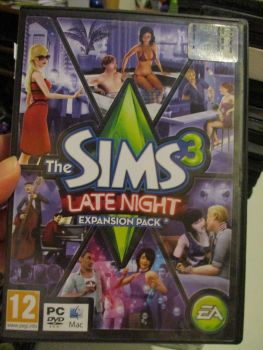 The Sims 3: Late Night Expansion Pack (Italian) Pal PC DVD / Mac #FM0507