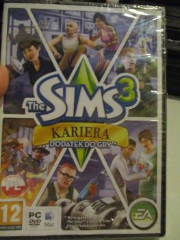 The Sims 3: Ambitions Expansion Pack (Polish) Pal PC DVD / Mac #FM0518