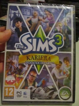 The Sims 3: Ambitions Expansion Pack (Polish) Pal PC DVD / Mac #FM0512